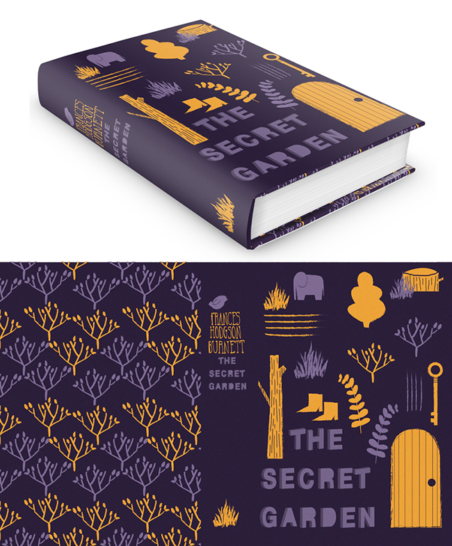 alice-potter_The Secret Garden Book Jacket_Alice Potter