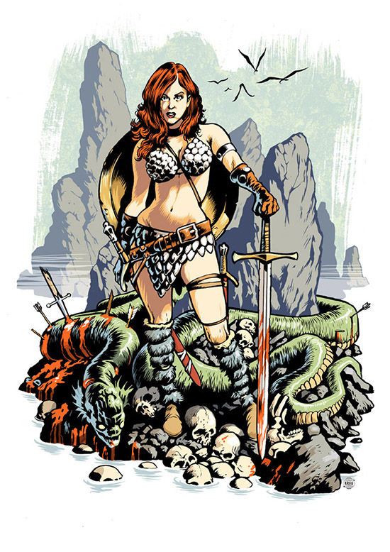 erik-kriek_Red Sonja color